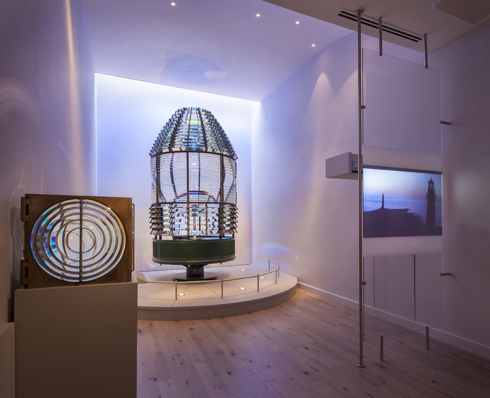 The Lens Gallery at the Cape Ann Museum. Photo: Steve Rosenthal, 2014.