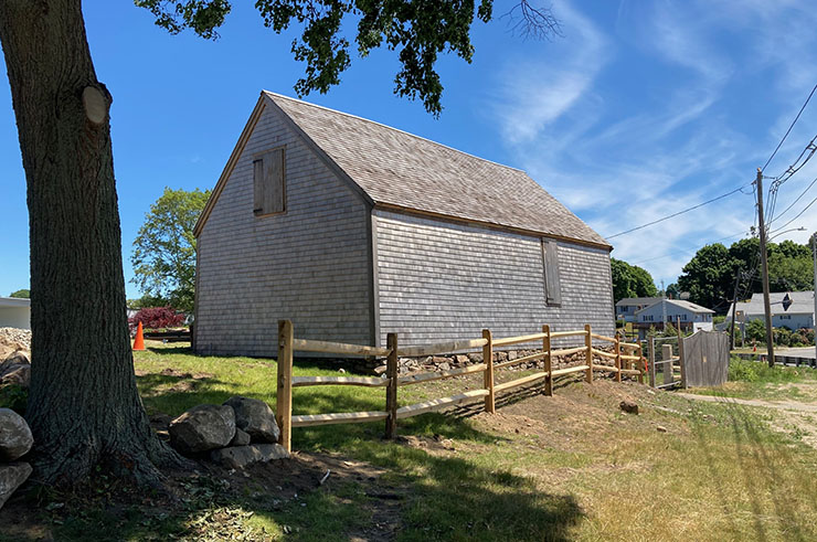 Historic Barn at Cape Ann Museum Green