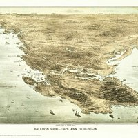Cape Ann Balloon View Map