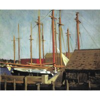 Edward Hopper's New England Note Cards