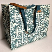 "Exclusive Folly Cove Designer ""Chickadee"" Carry-All Tote Bag"