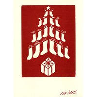 Folly Cove Designers Christmas Tree Notecards