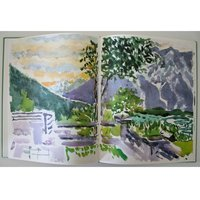Nell Blaine Sketchbook