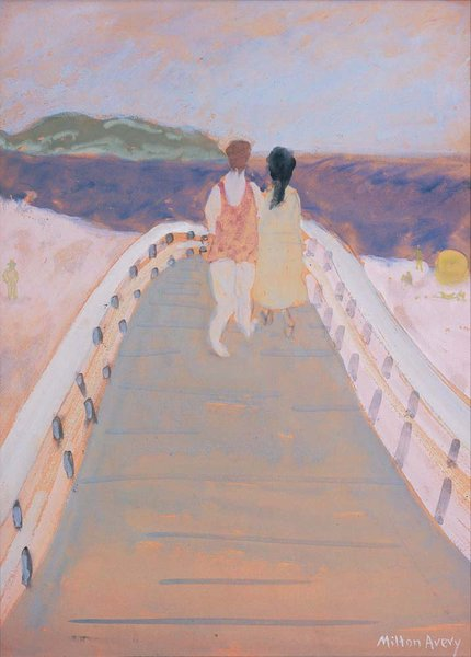 Bridge To The Sea By Milton Avery Cape Ann Museum An