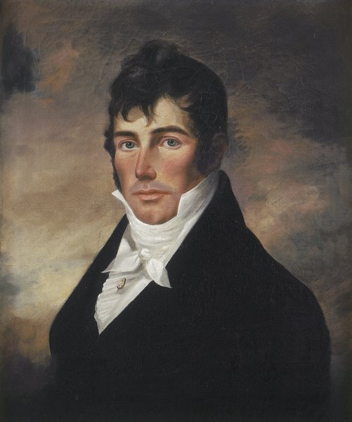 Unattributed Portrait of Captain Elias Davis