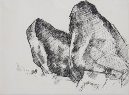Study for Whale's Jaw, Dogtown