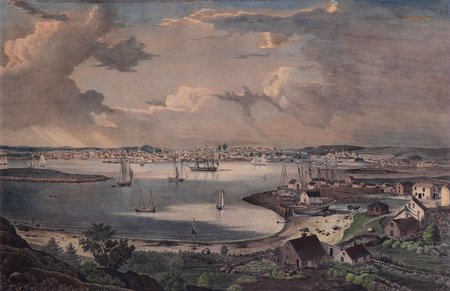View of the Town of Gloucester, Mass.