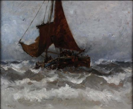 Ship in Heavy Seas