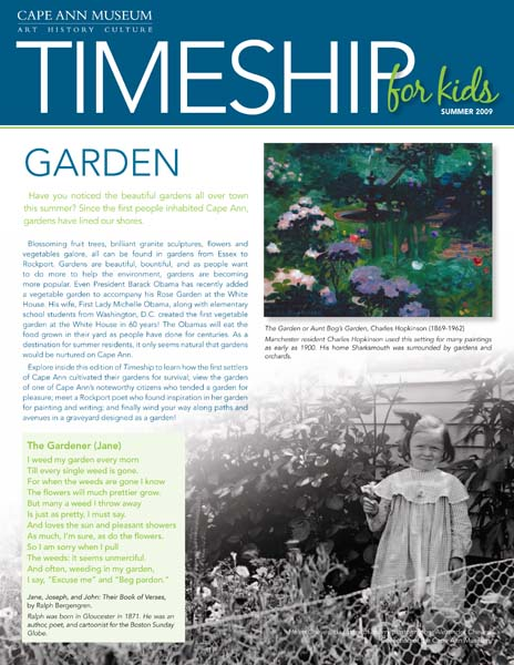 Timeship for Kids - Garden