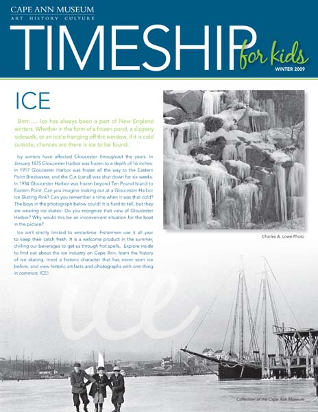 Timeship for Kids - Ice