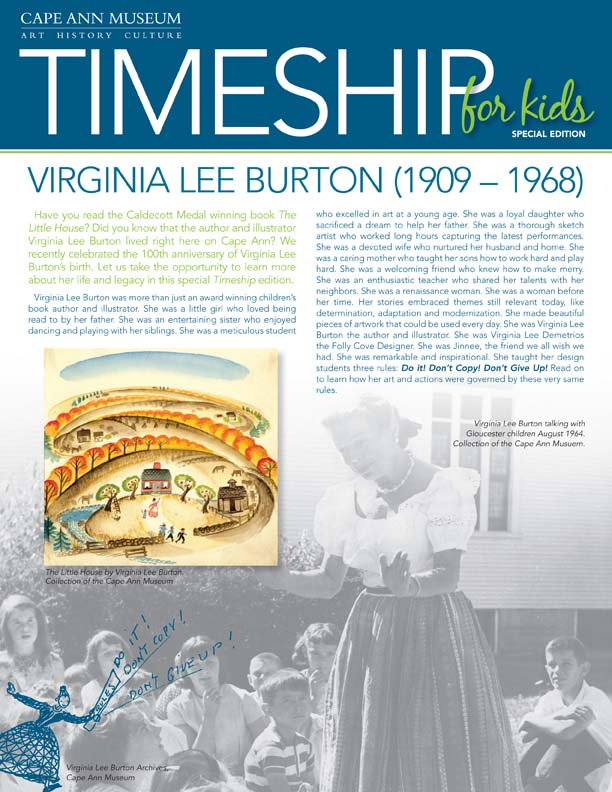 Timeship for Kids - Virginia Lee Burton